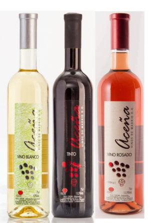 vino Aceña semidulce DO Vinos de Madrid