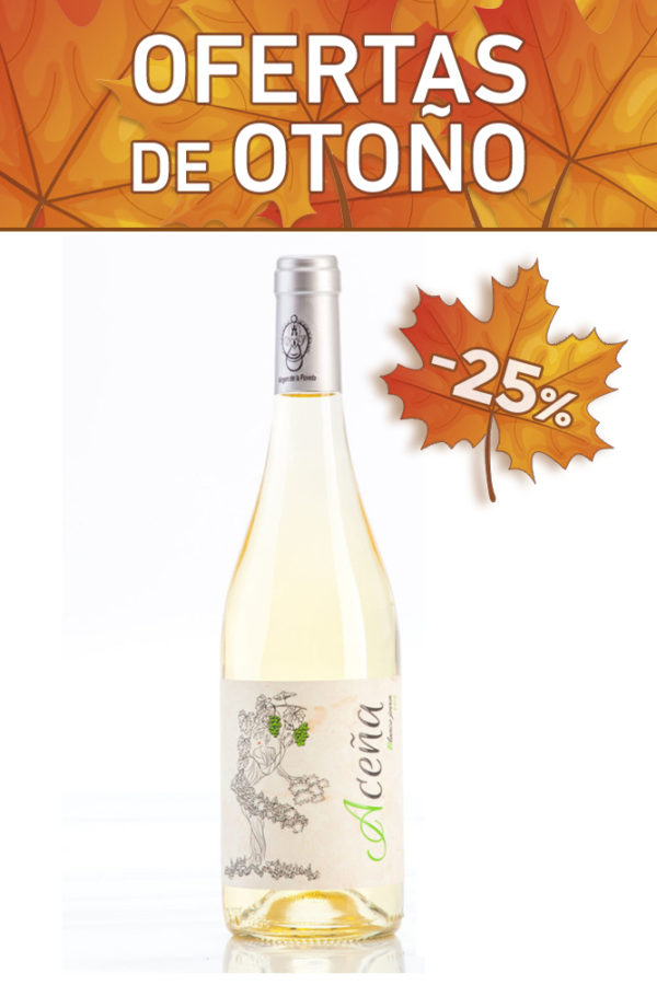 vino blanco aceña seco joven madrid