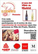 Vino de Madrid sorteo enoturismo