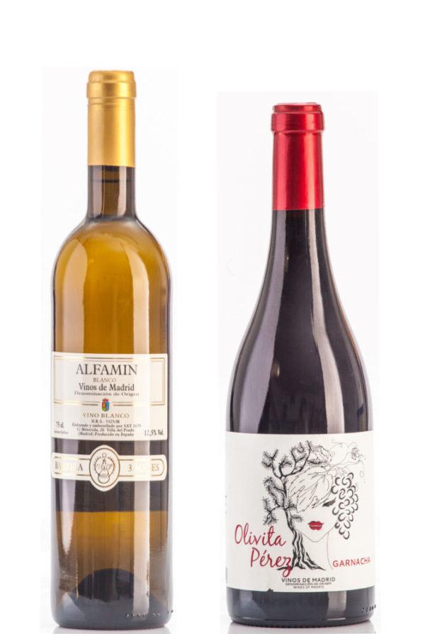 Lote Navidad vinos de Madrid