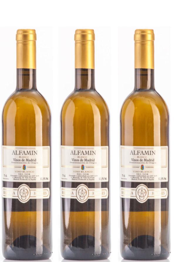 Vino Blanco Alfamin D.O. Vinos de Madrid