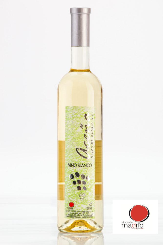Vino Blanco Semidulce Aceña D.O. Vinos de Madrid
