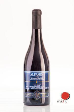 Vino Tinto Crianza Alfamin D.O. Vinos de Madrid