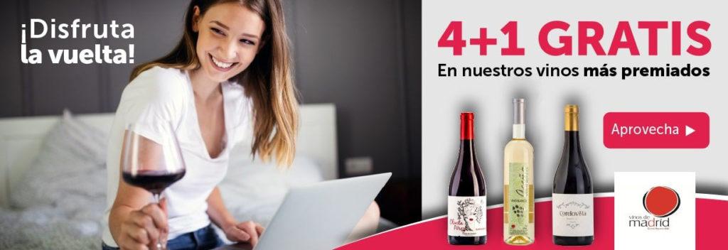 Ofertas 4+1 En nuestros vinos más premiados