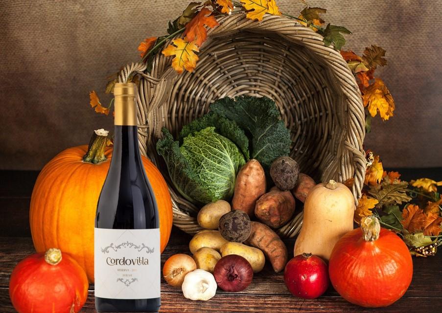 vinos maridaje productos otoño