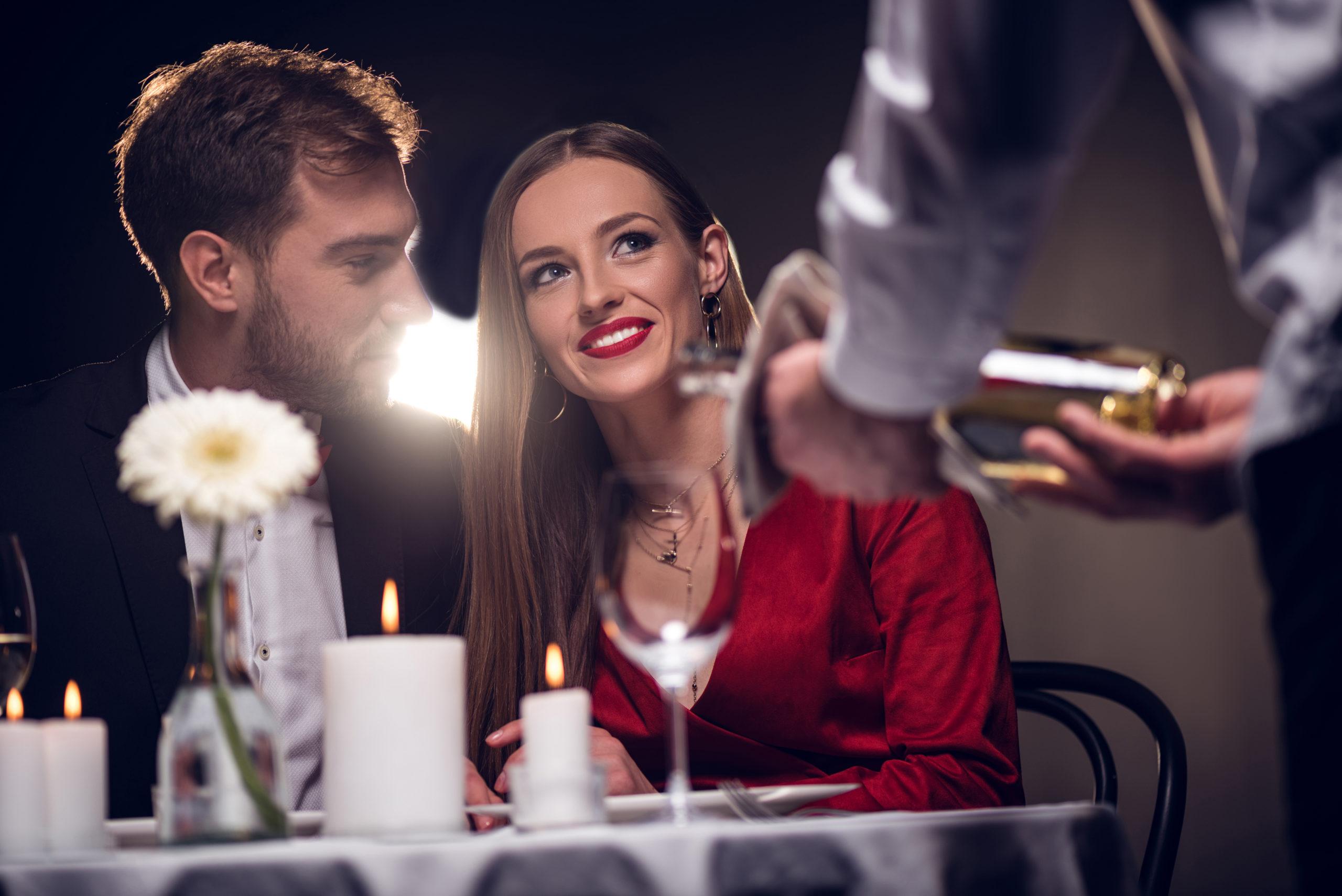 Vino y San Valentín
