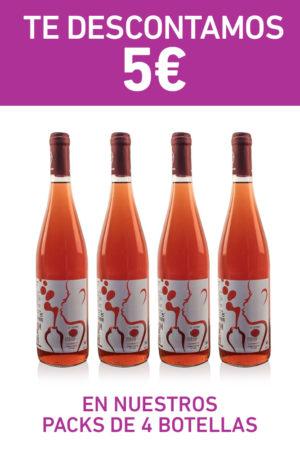 oferta vino rosado madrid