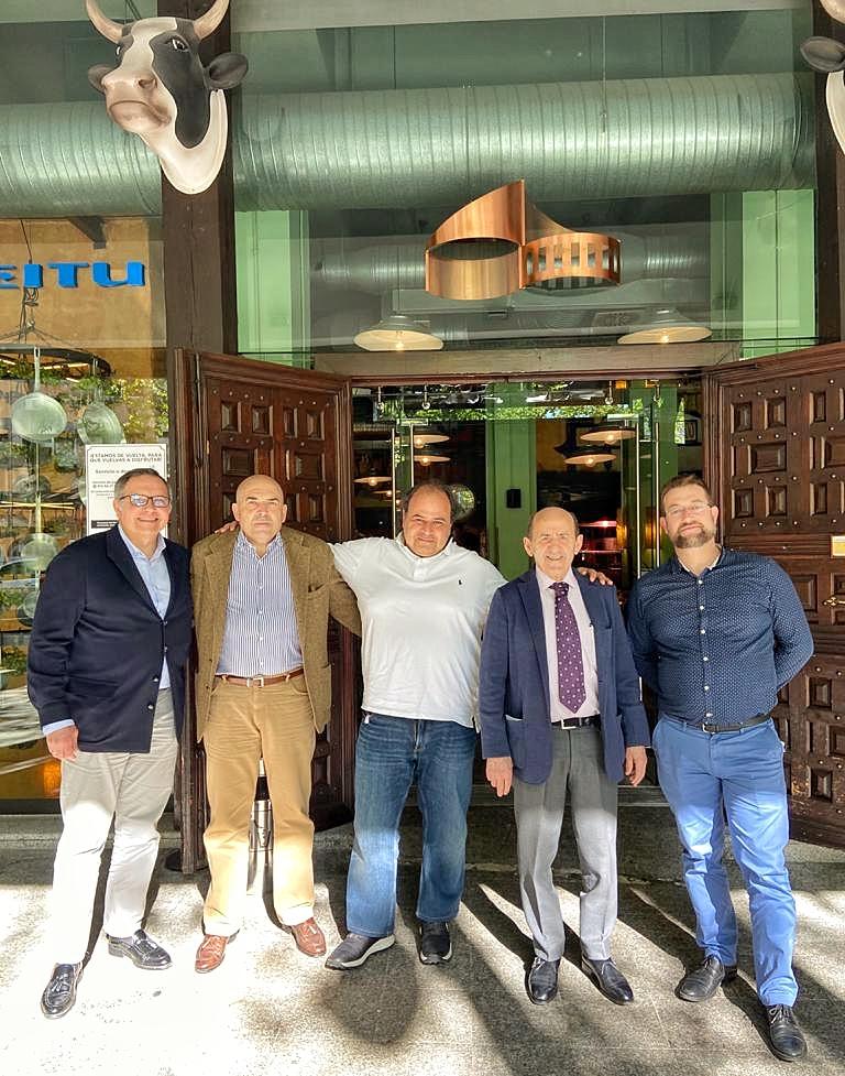 Elias Zreik, Raúl de Lema, Juan Manuel Albelda, Gerardo Oter, Jesús Martínez Hidalgo, Grupo Oter, San Telesforo, La Tienda de Vino, Carnicería de Madrid