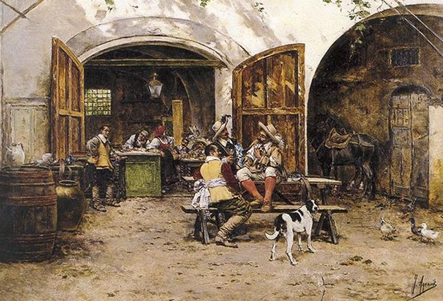 Mesones. Los vinos de San Martín en el Siglo de Oro
