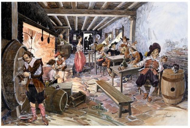 Taberna. Los vinos de San Martín en el Siglo de Oro