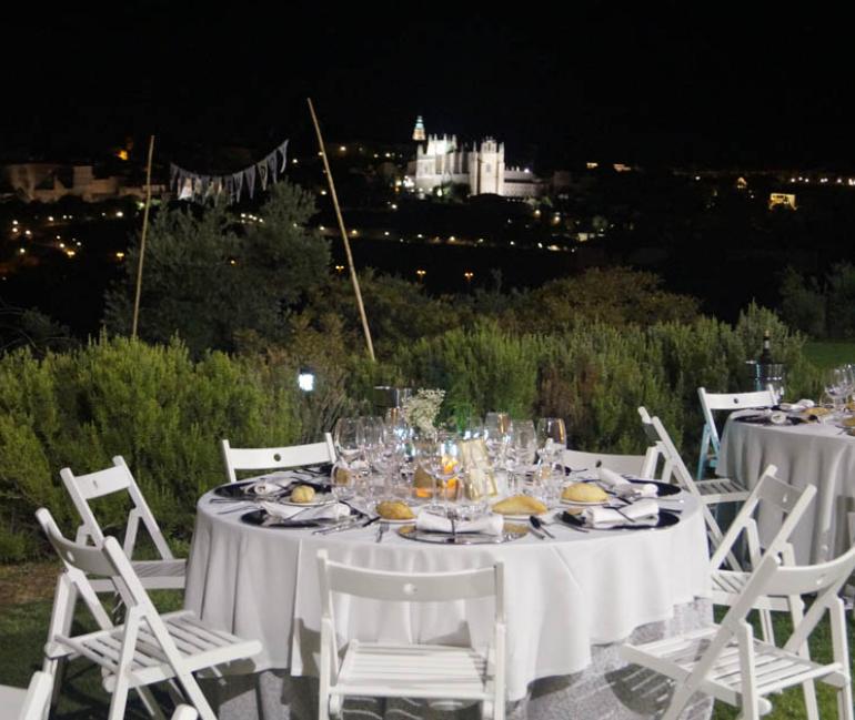 El Cigarral El Bosque. 1ª cena Estrellas de la Mancha Toledo