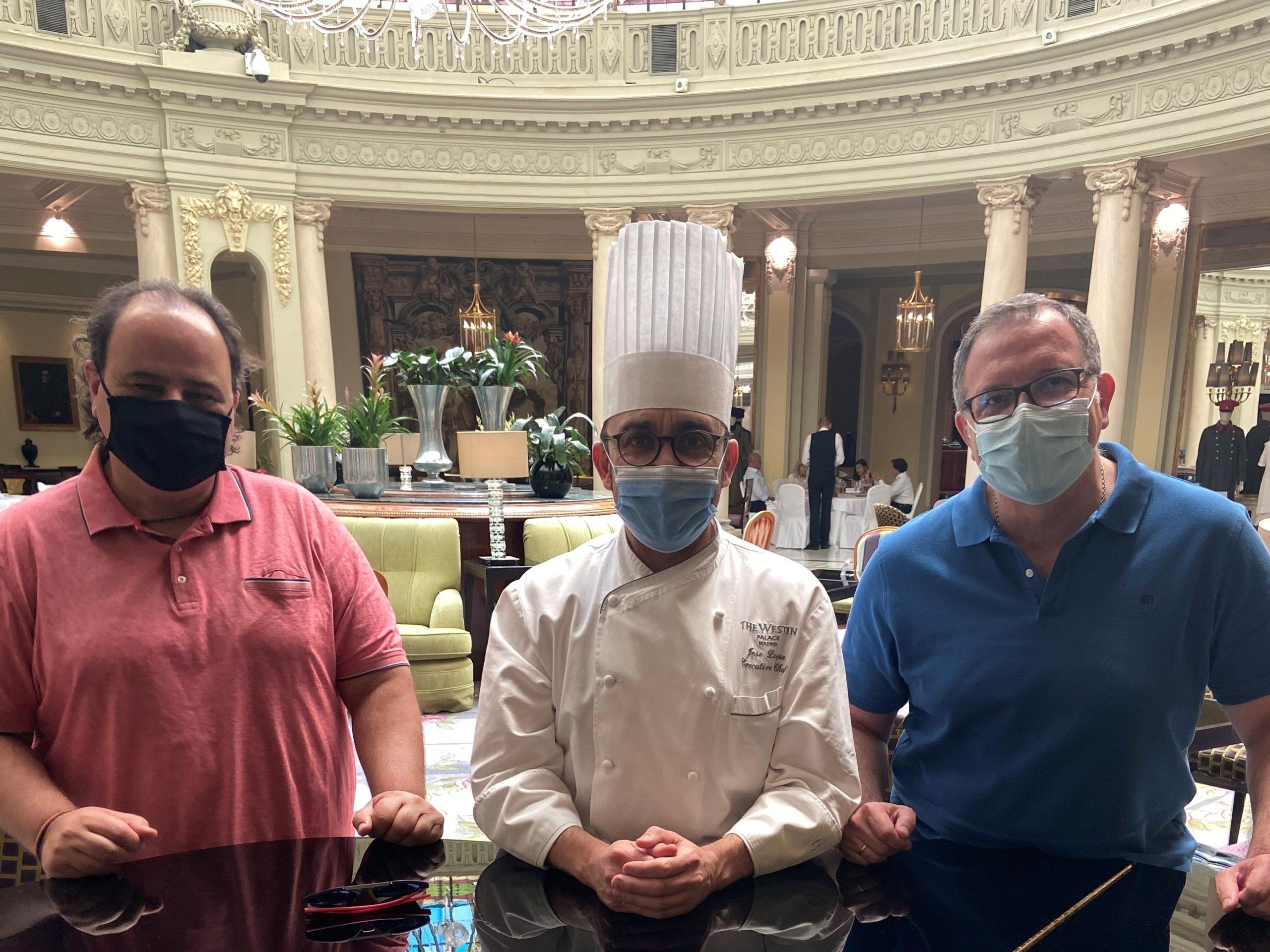 Organización con el chef Jose Luque