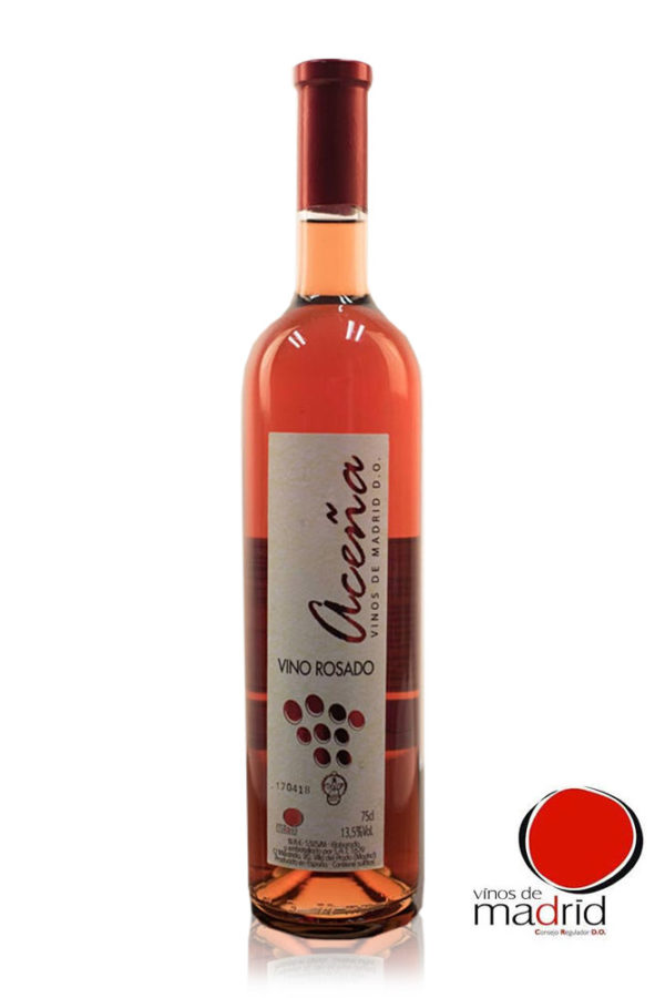 "Vino Rosado Semidulce Aceña D.O. ""Vinos de Madrid"""