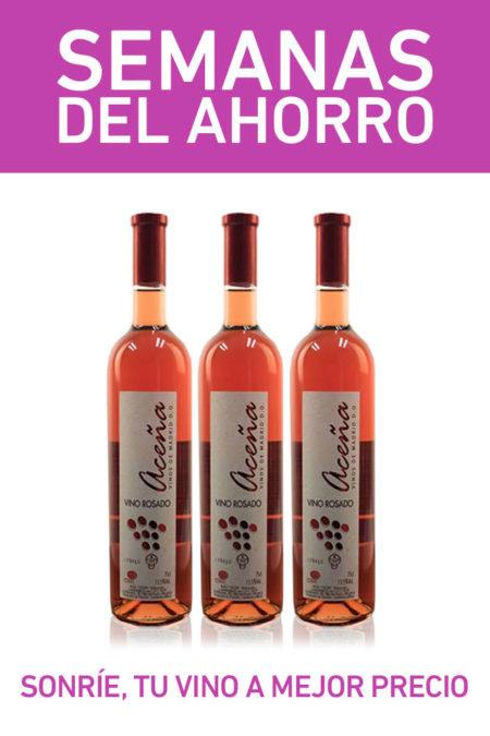pack vino rosado semidulce madrid