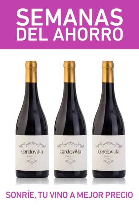 pack vino tinto reserva cordovilla madrid