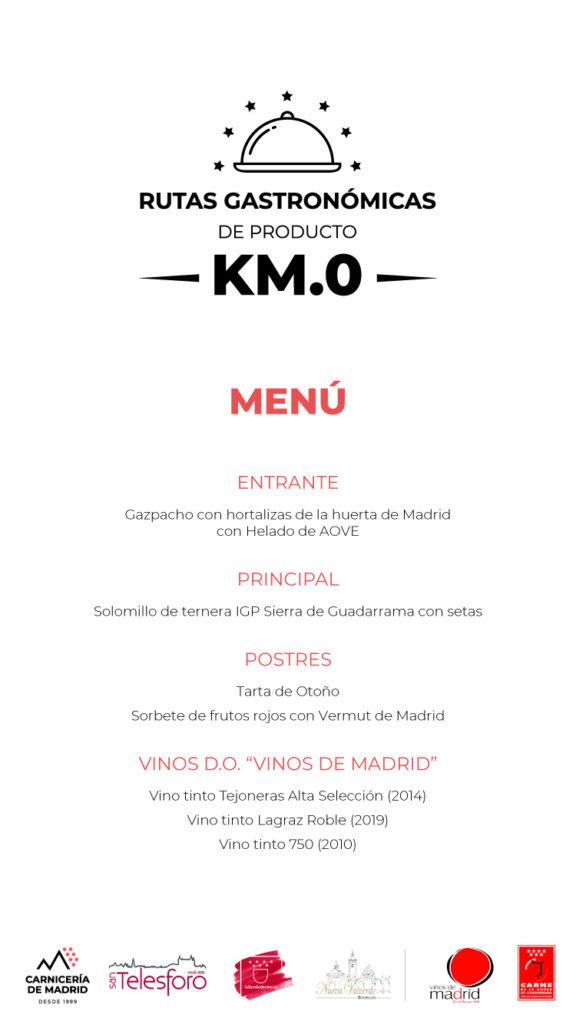 La Tienda de Vino presente en la 2ª cena Ruta Gastronómica Producto KM.0 en The Westin Palace Madrid